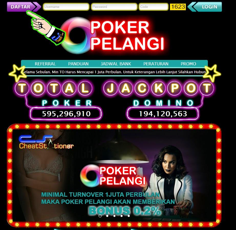 Daftar POKER PELANGI* Poker Dan Domino Bandar QQ Uang Asli
