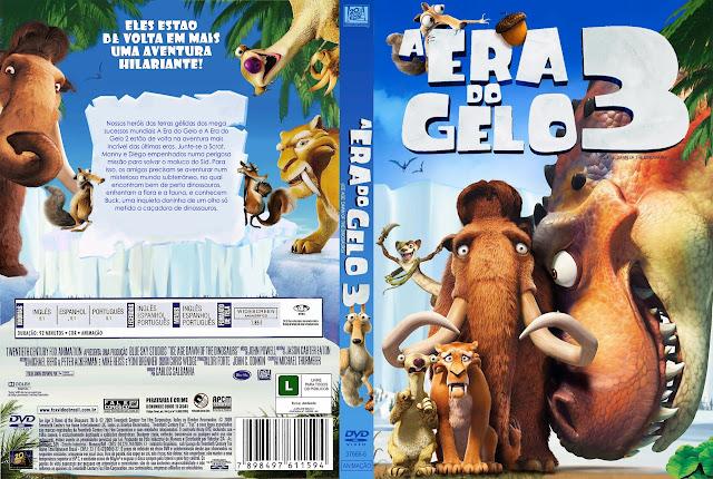 Capa DVD A ERA DO GELO 3