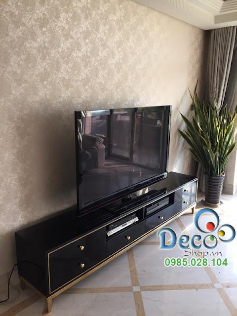 Kệ Tivi Đẹp Để Sàn Deco DB04-2