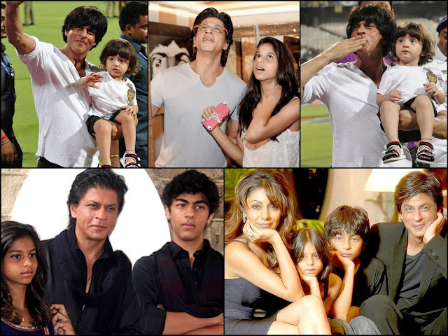family of shah rukh khan