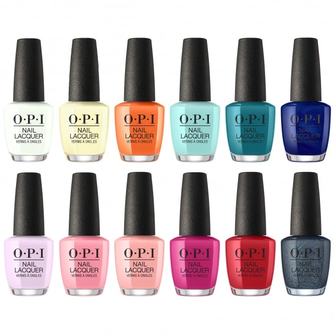 OPI Grease Collection Swatches and Review - JACKIEMONTT