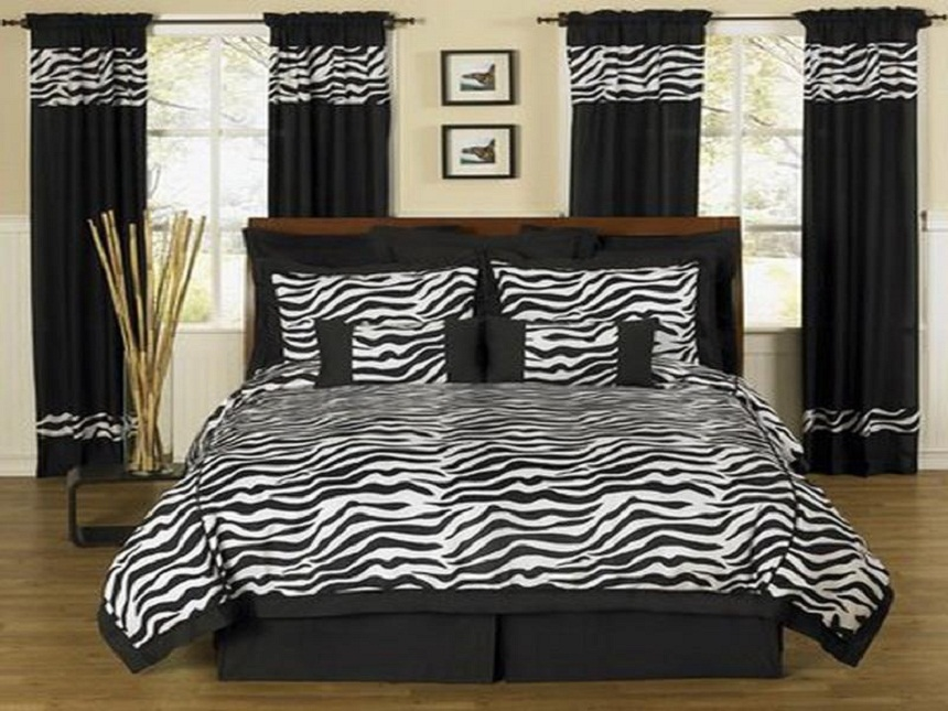 elegant zebra room ideas