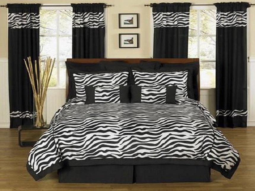 elegant zebra room ideas