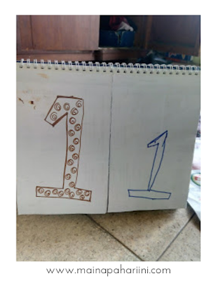 tutorial diy mudah dari kalender bekas