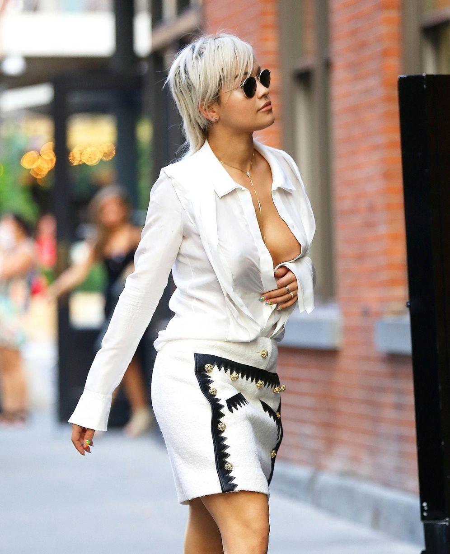 Rita Ora Cleavage Nude Photos 83