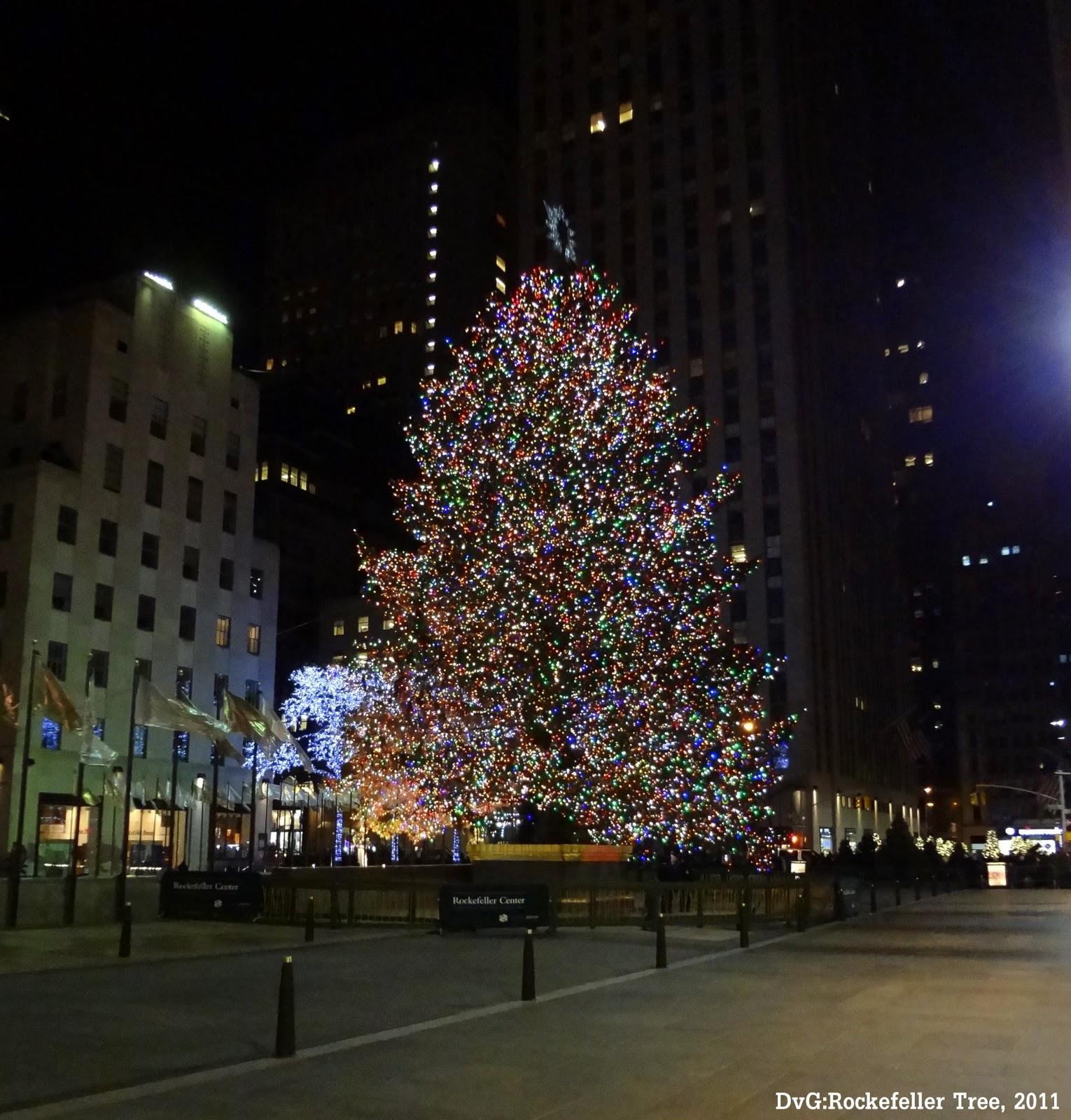 Rockefeller Christmas Tree Lighting 2014: NYC-2012
