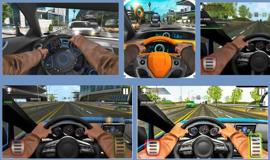 Extreme Car In Traffic 2017 v 1.1.0 APK + Hack MOD Android