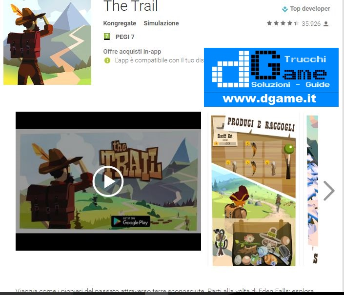 Trucchi The Trail Mod Apk Android v6359
