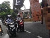 BerbugiI Ria dijalanan Malaysia, Wanita Asal Indonesia ini Ternyata..