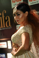 Apoorva Spicy Pics in Cream Deep Neck Choli Ghagra WOW at IIFA Utsavam Awards 2017 56.JPG