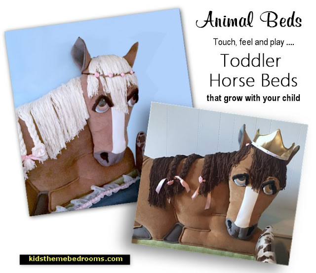 horse theme horse themed beds animal beds kids beds toddler beds horses