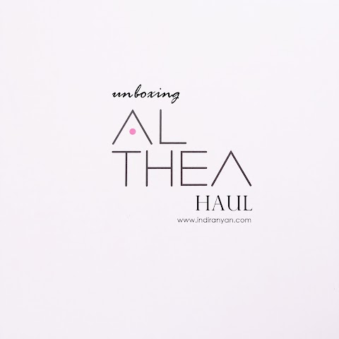 [UNBOXING] Althea Haul + Shopping Experience