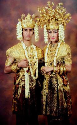 Provinsi Sumatera Selatan - Pakaian Adat Tradisional Aesan Gede