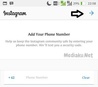 Masalah Verifikasi Nomor HP Instagram
