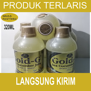 Jelly Gamat Gold G isi 320 ML