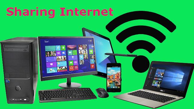 Cara Membagi Koneksi Internet ke Komputer/Laptop Lain