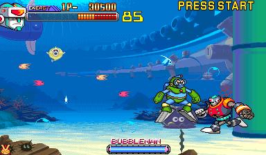 Megaman 2: The Power of Fighter+arcade+game+portable+videojuego+descargar gratis
