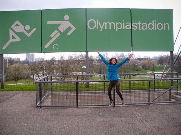 Olympic Stadium (Olympiastadion) in Munich, Germany