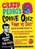 Corrie Cast v Fans Quiz, Aug 23