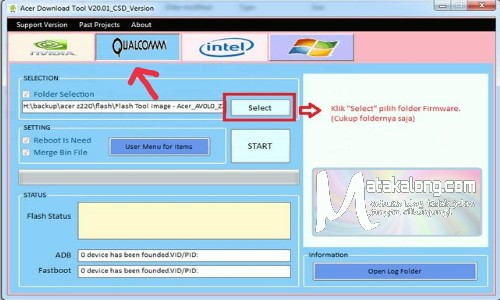 Cara Atasi Hp Acer Z220 Bootloop