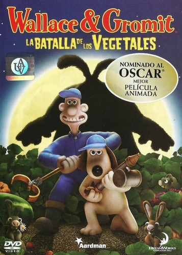 Wallace & Gromit. La maldición de las verduras (2005) [DVDrip Latino]
