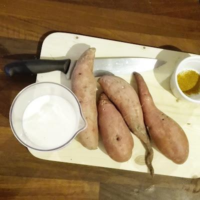 Velouté de patates de douces au curry / gremlinsgang / fibres&food