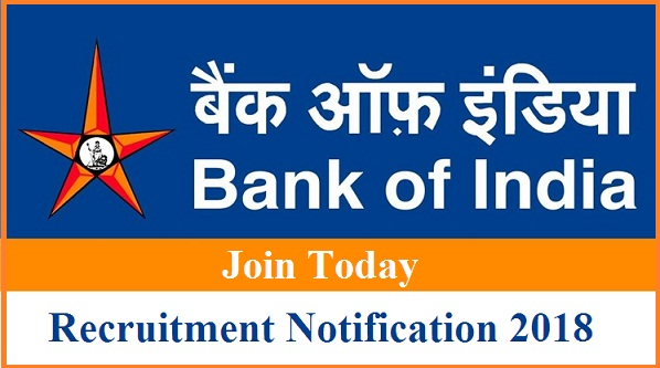 bank of india recruitment notification