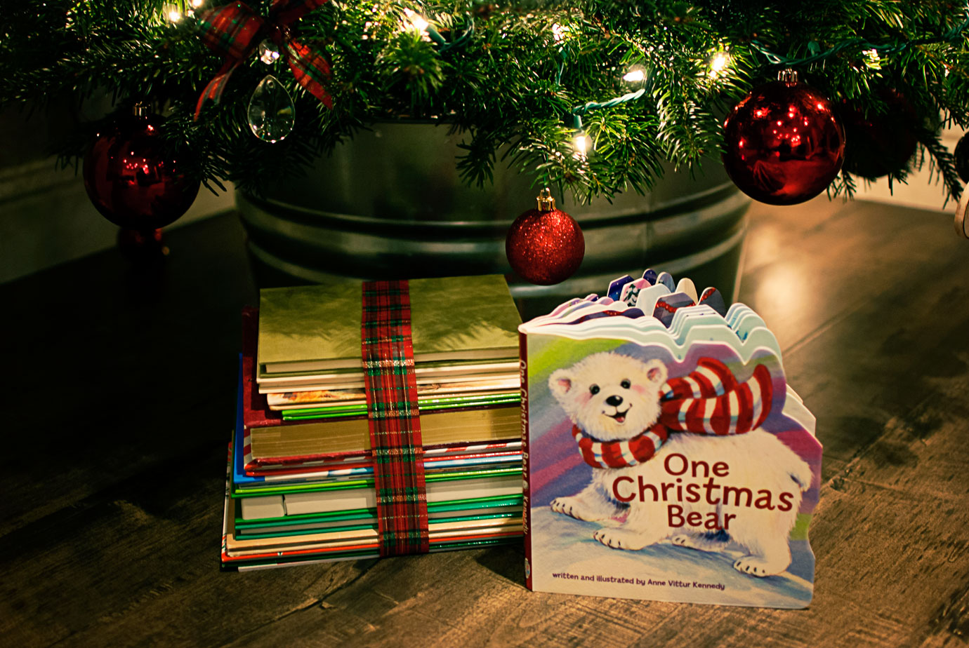 one christmas bear by anne vittur kennedy a sweet christmas story book for toddlers and preschool - Christmas Story For Toddlers