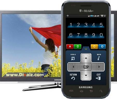 Cara merubah HP Android jadi remote TV - www.divaizz.com