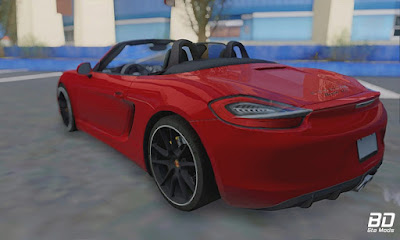 Download mod carro Sport , Porsche Boxster GTS 2016 para GTA San Andreas, GTA SA Jogo PC