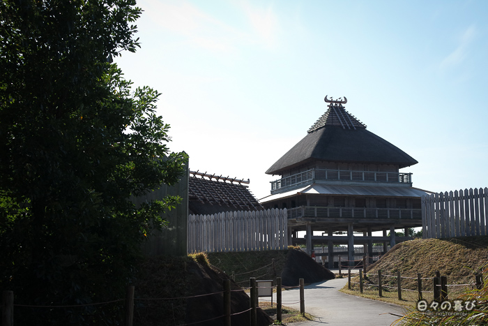 Kitanaikaku, entrée nord, parc Yoshinogari, Saga