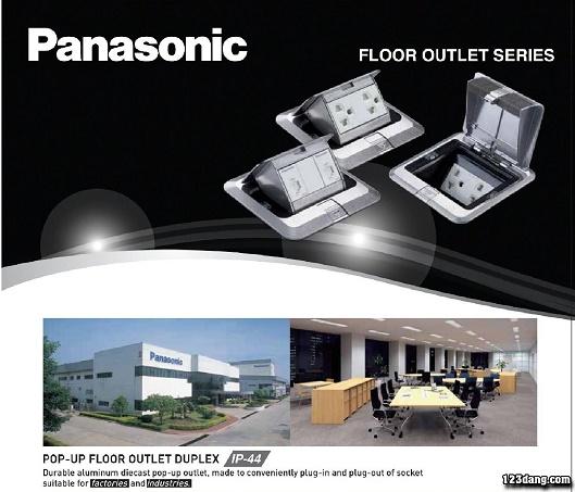 Công tắc ổ cắm Panasonic, Thiết bị điện Panasonic 3