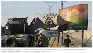 Iraqi forces planned Kirkuk takeover