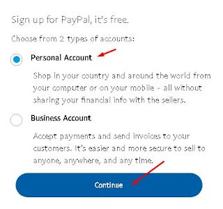 طريقة إنشاء حساب باي بال وتفعيله خطوة بخطوة