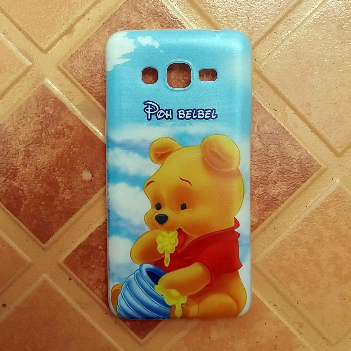 casing gambar winnie the pooh