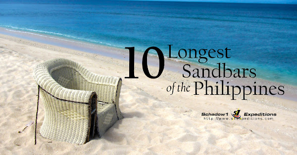 Longest Sandbar of the Philippines - Schadow1 Expeditions