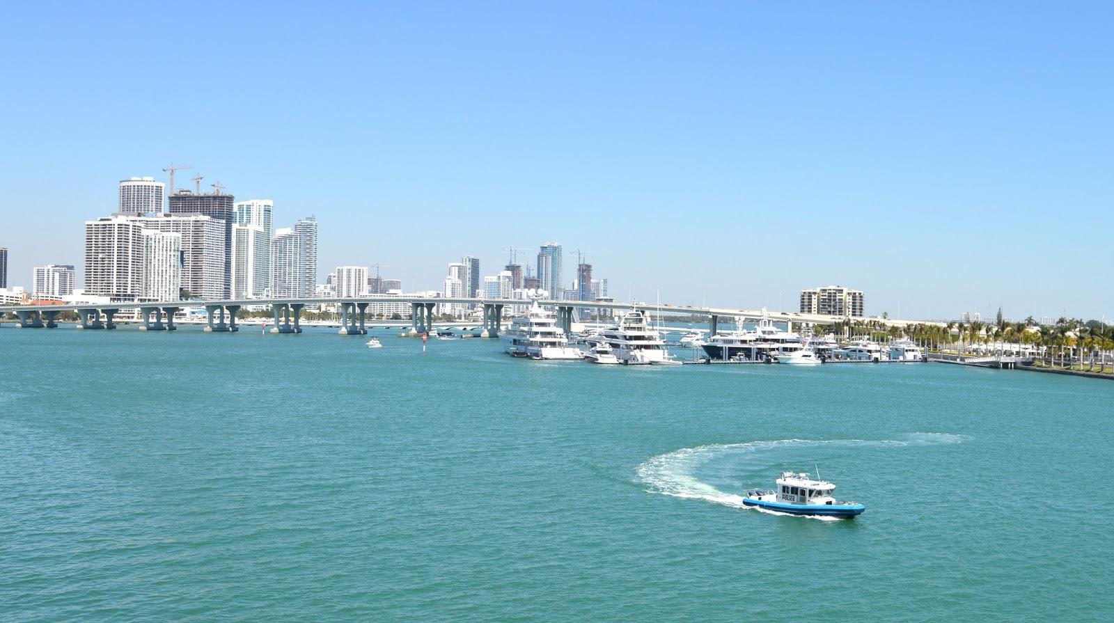 Celebrity Eclipse leaving Miami