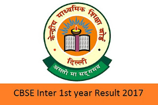 CBSE Inter 1st year Result 2017