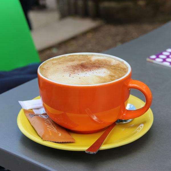 Kaffeepause,