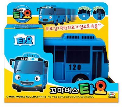 TAYO EL PEQUEÑO AUTOBUS - Vehículo Tayo : Bus Azul | Serie Youtube | TAYO THE LITTLE BUS | JUGUETE caja