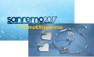 Logo Vinci gratis gioielli Morellato e la finale di Sanremo con ''Istanti d'Amore''