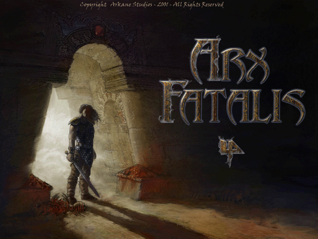Arx Fatalis title screen