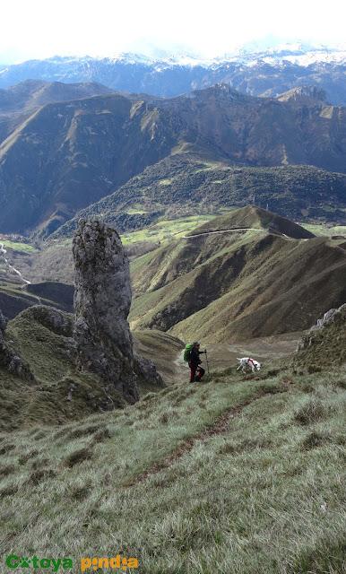 Ruta circular al techo de la Sierra del Cuera, el Pico Turbina.