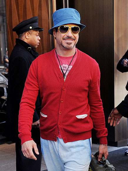 Fashion according to Erin: Robert Downey Jr.