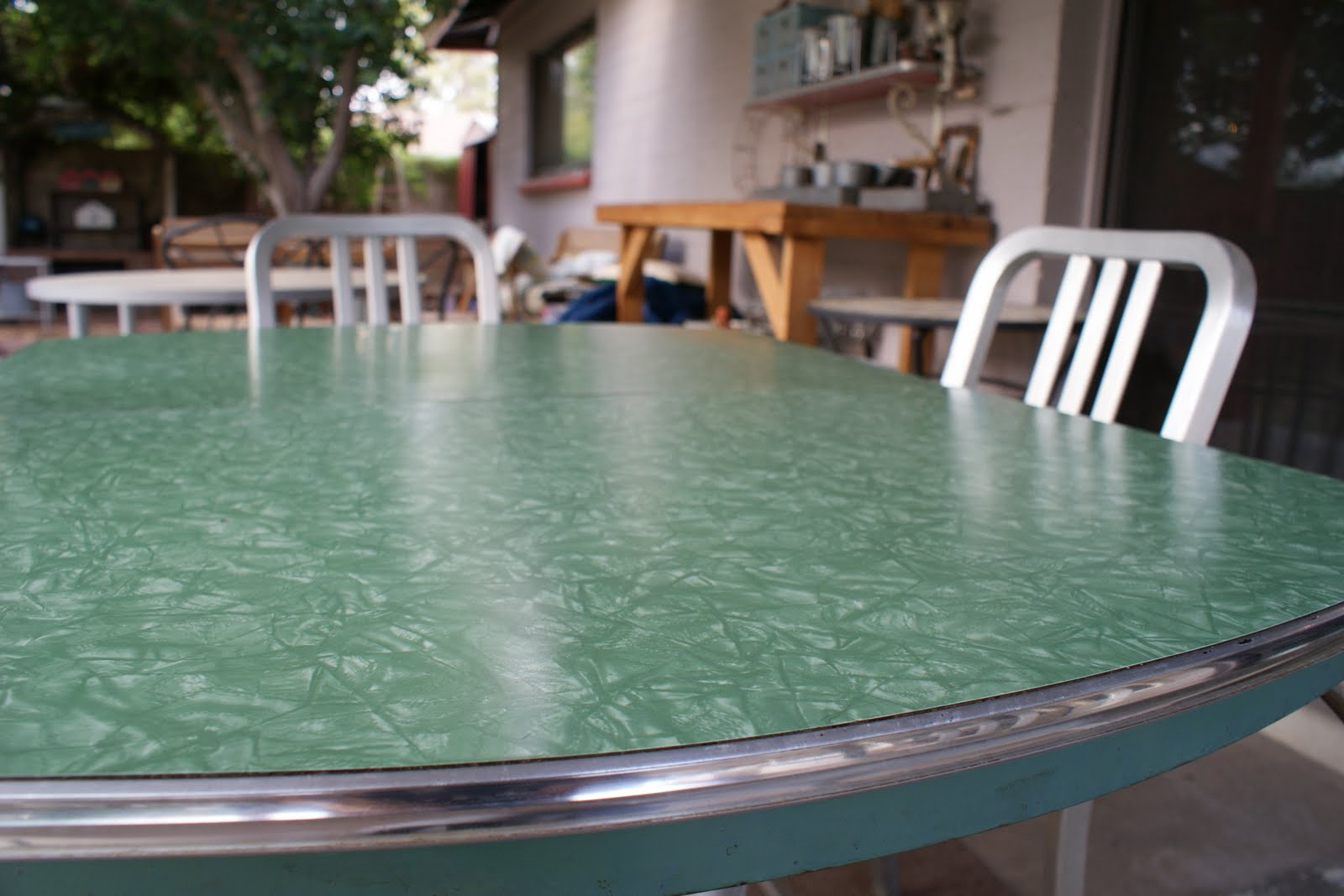 Reminisce Vintage Formica Table