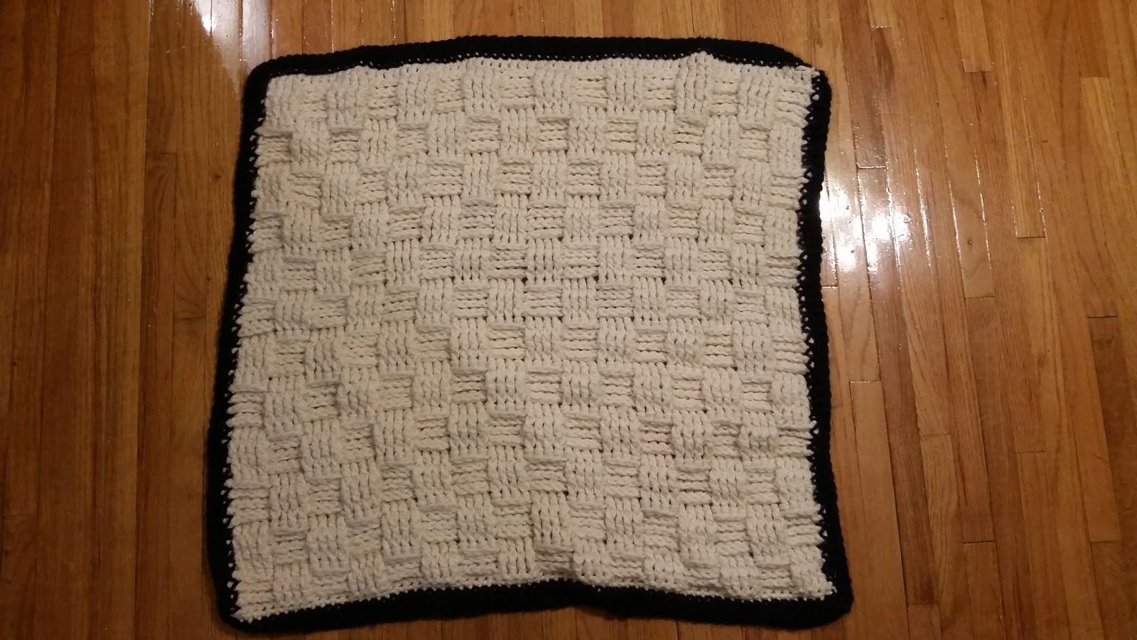 Erin's Crafty Endeavors: Waffle weave crochet pattern