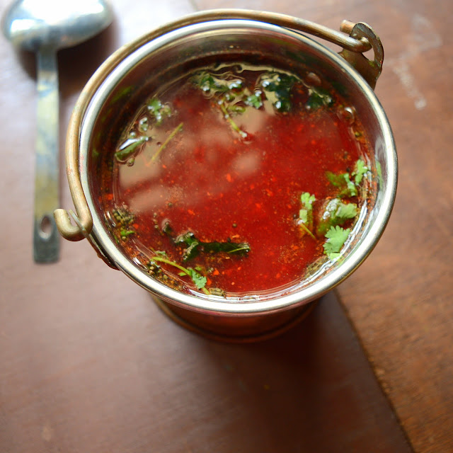 Beetroot Rasam | South Indian Rasam with Beetroot