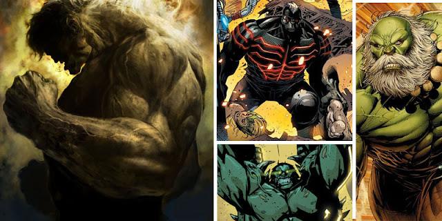 Macam-macam Hulk dalam Komik Marvel, dari Savage Hulk sampai World Breaker
