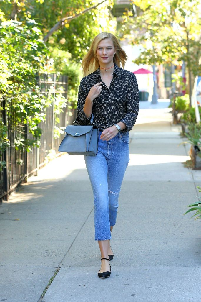 Karlie Kloss street style fashion outfit ideas
