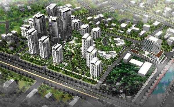 Nhà ở xã hội Hồng Hà Eco City